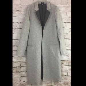 Long Tall Sally grey maxi coat